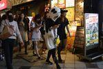 渋谷ハロウィン「コスプレ衣装 路上に脱ぎ捨てないで」