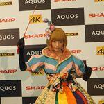 きゃりーぱみゅぱみゅがAQUOS 4Kの新CMをお披露目!! 「もしもしにっぽんフェス 2015」にサプライズ出演!