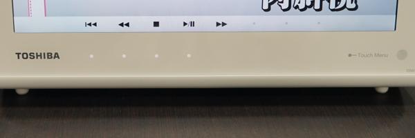 タッチパネル……ではなく、周囲のフレーム部分にタッチセンサーを搭載する仕組み