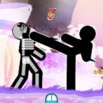 """フォースの力も使える""""小小""""作品的カンフーアクション『One Finger Death Punch』:Steam"""