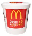 マクドナルド史上最多!チキンマックナゲット48ピース新潟限定で販売