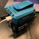 災害時に役立つ マキタのバッテリーでスマホが充電できるアダプター