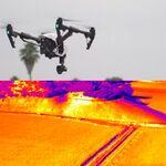 「赤外線カメラ」で空撮ドローンの用途を広げる、DJIとFLIR Sysytems