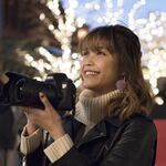 9nine吉井香奈恵と見る、イルミネーションとデジタルカメラ