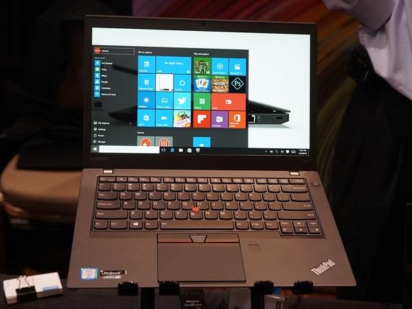 ThinkPad X1 Carbonと同等の薄さながらGeForce 930を搭載可能な14型モバイル「ThinkPad T460s」