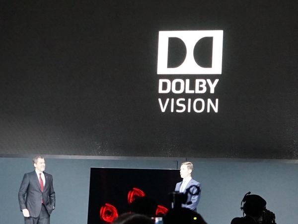 「DOLBY VISION」をはじめ、Amazon VideoやYouTubeなどのHDRコンテンツに対応する