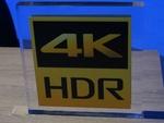 独自の4K HDRロゴも! ソニーが薄型4Kテレビや超短焦点プロジェクターを投入!