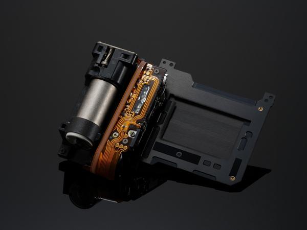 新開発のシャッターユニット