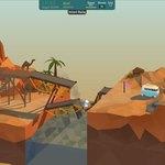 「橋なんていらなかった」なハチャメチャ橋作りパズル『Poly Bridge』:Steam