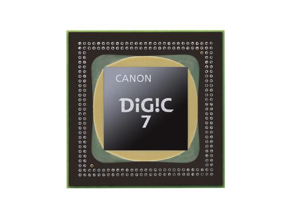 本機でいち早く投入された最新の「DIGIC 7」