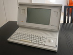 当時はこれでもポータブルだったMacintosh Portable