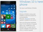 Windows Phone 8.1からWindows 10 Mobileへのアップグレードが開始