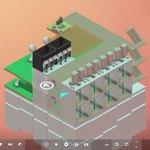 """未来の街作りは""""縦""""に積む? """"シムシティ""""&パズルな『Block'hood』:Steam"""