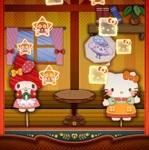 キティさんやマイメロちゃんたちが紙人形になって超きゃわいい