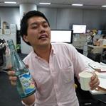 スマホアプリ「みんなの釣りバカンス」で頂いた日本酒で編集部員が釣れた