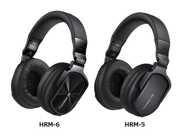 Pioneer DJ、40kHzまでの高解像度再生対応モニターヘッドホン「HRM-6」