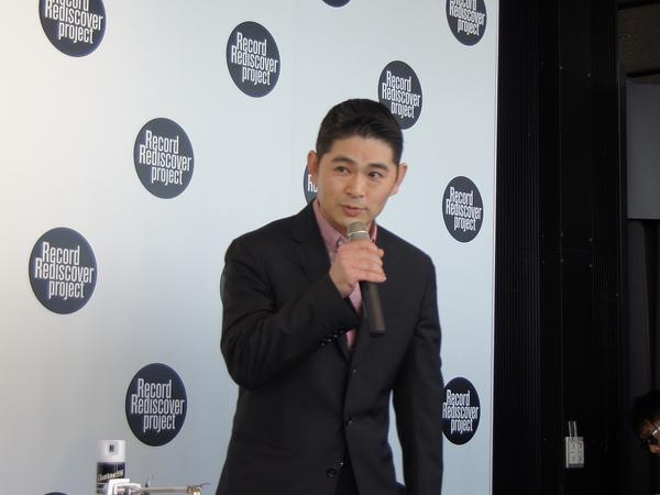 東洋化成 レコード事業部 カッティングエンジニアの西谷俊介氏
