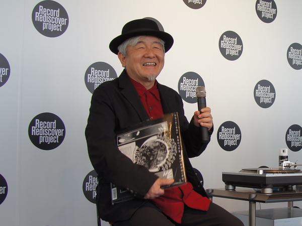 ロックバンド「はちみつぱい」の鈴木慶一氏。グレイトフル・デッドの「アメリカン・ビューティ」から「Box Of Rain」をチョイス