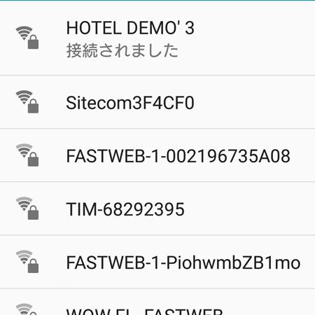 海外でデータローミングを使わずにWi-Fiに接続するXperiaテク