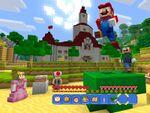 Wii U版マインクラフトの世界がスーパーマリオ一色に!