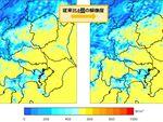 日本気象協会、従来比4倍解像度の日射量推定サービスを開始