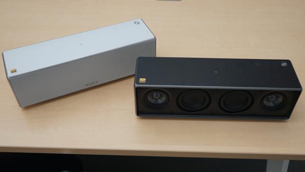 「SRS-ZR7」。ホワイトとブラックのカラーを用意