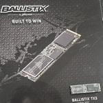 マイクロン初の3D NAND採用NVMe SSD「Ballistix TX3」