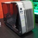 ENERMAXのコンパクトなMicro ATXケースをCOMPUTEXで見た