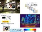 東芝、単眼レンズカメラで「画像と距離」を取得する技術