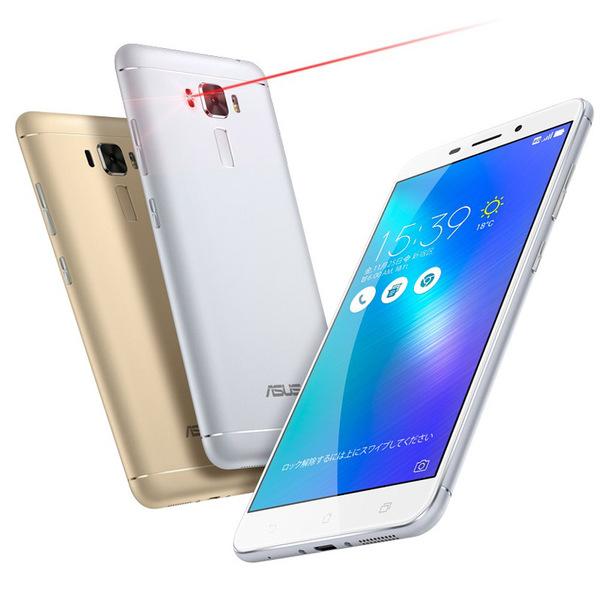 【格安データ通信SIM】ASUS「ZenFone 3 Laser」発売、IIJmioが未使用分の通信量を割り引く新サービス