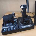 PCゲーム用フライトコントローラー「X56 HOTAS」 操作感と没入感がバツグンすぎる一品