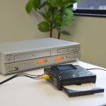 思い出のビデオテープをワンタッチでDVD化しませんか?
