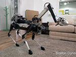 ボストン・ダイナミクス、アーム付きの4足歩行ロボットを発表