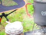 アウトドアでラーメンとコーヒーを作れるクッカー3点セット