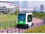 日本初導入の無人運転バス、イオンモール幕張新都心で試験運行