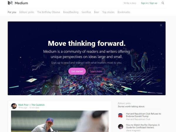 新世代のブログシステム「Medium」に入門する