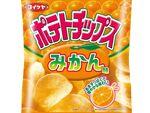 """「夏の""""おかし""""なお便り」ポテトチップス みかん味が来た!?"""