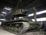 ウォーゲーミングが旧ソ連の重戦車「KV-1」をレストア