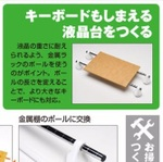 「PC液晶台」を100円ショップグッズでだけでつくる【倶楽部】