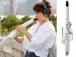 ローランド、リコーダー感覚で楽しめる新デジタル楽器「エアロフォン」