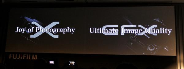 そこで富士フイルムは今回、中判システム「GFX」を発表しますーーー!!!