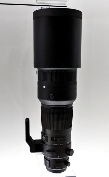 「SIGMA 500mm F4 DG OS HSM」