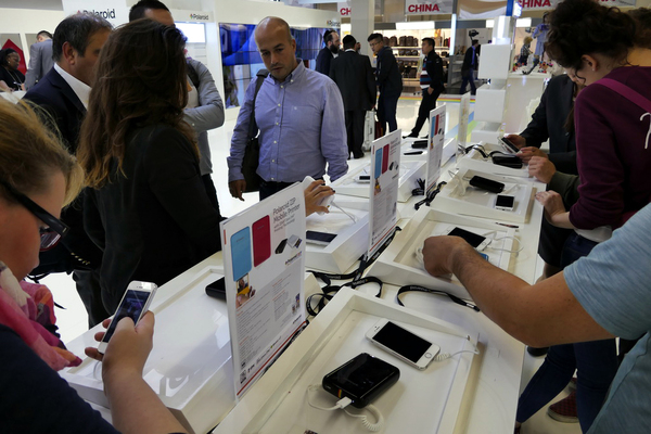モバイルプリンターの展示にも注目が集まっていた