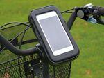 ポケモンGOのお供に! スマホ&モバイルバッテリーホルダー「自転車でGO!」