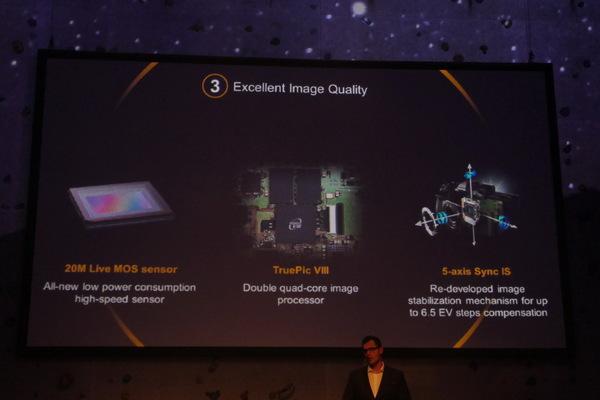 撮像素子、画像処理エンジン、手ブレ補正が大幅に進化