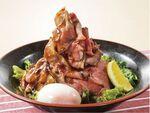 肉量が通常の2倍! 夢庵の炙りローストビーフ丼特盛サイズ