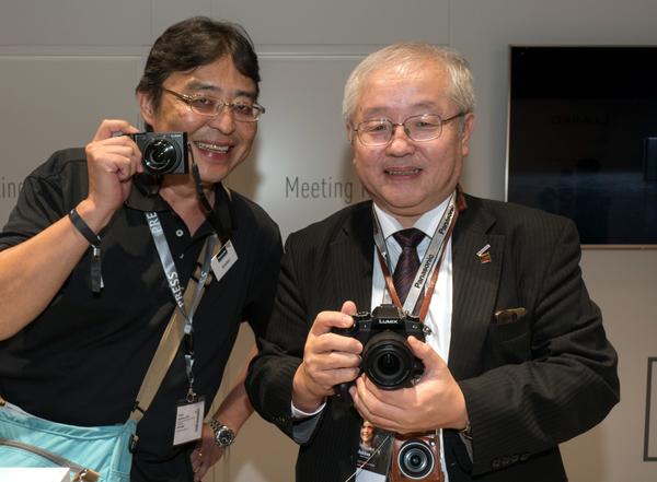 宮野編集長と井上氏