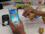 スマホと連携し子供が楽しく歯磨きできる小型IoT「シャカシャカぶらし」