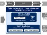 NECとSASがAI領域で協業、需要予測ソリューションを提供