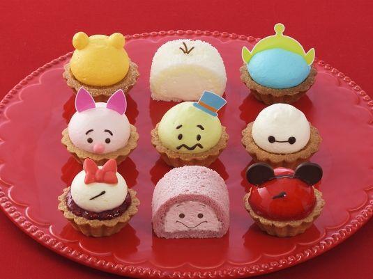 可愛すぎて食べられない! ディズニーツムツムのプチケーキ